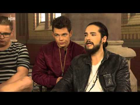Tokio Hotel interview - NDR Hamburg 24.03.2015