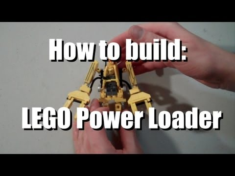 Video Game Stuff made out of Lego: #7 Power Loader