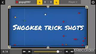 Total Snooker | Total tricks