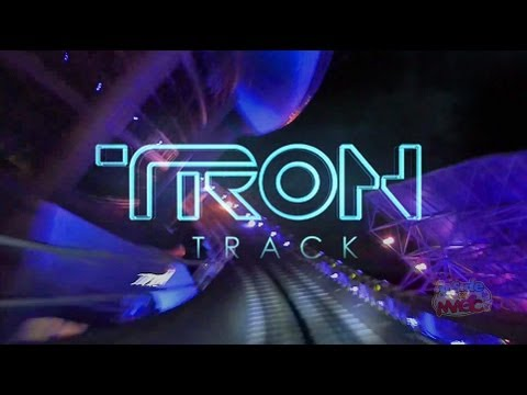 "TRON Track at Epcot - Custom audio for Test Track 2.0 with ""Tron: Legacy"" music & story"