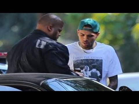 Chris Brown Arrested by Cops