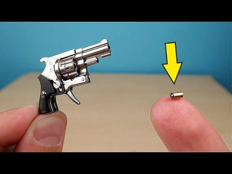 Микро Револьвер калибра 2мм, который стреляет микро патронами! alex boyko