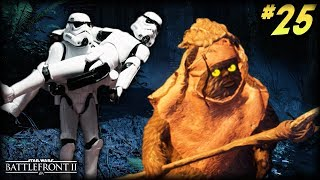 Star Wars Battlefront 2 - Funny Moments #25 (SCARY EWOKS and FRIGHTENED STORMTROOPERS!)