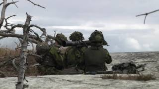 BALTOPS 2016: Swedish Marines Amphib Assault on Uto, Sweden (B-roll)