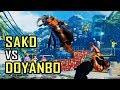 SFV - Sako (Akuma) vs. Doyanbo (High Rank Guile)