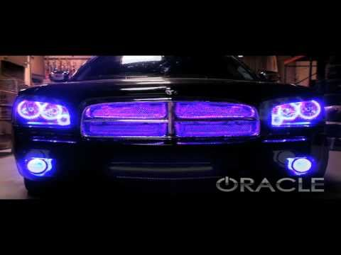 Dodge Charger ColorSHIFT ORACLE Halo Kit and V2 Scanner by Advanced Automotive Concepts