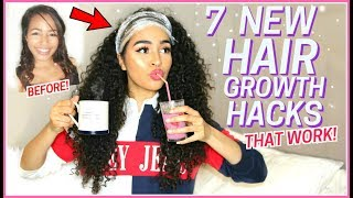 7 NEW HAIR GROWTH TIPS THAT YOU