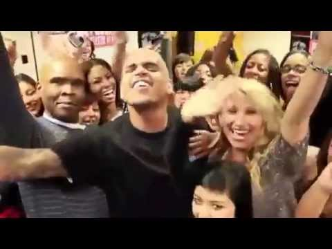 Chris Brown - Yeah 3x Funny Moment video