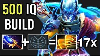 WTF 17x Slashes Pro Juggernaut Scepter + Battle Fury Most Imba Build Epic Fun Gameplay Dota 2