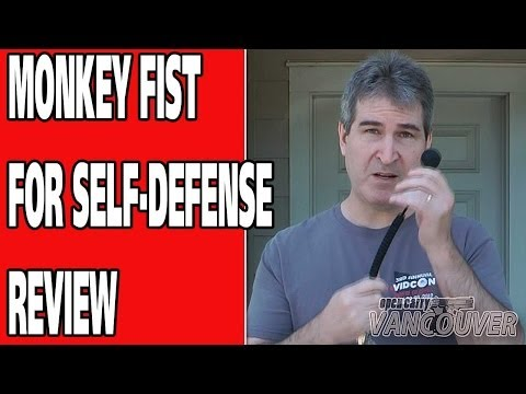 MONKEY FIST SELF-DEFENSE KEYCHAIN REVIEW