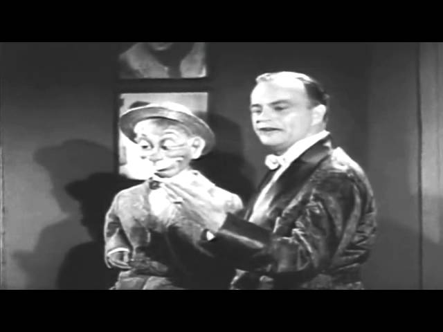 Edgar Bergen with Mortimer Snerd (ventriloquist 1950)