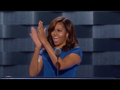 Michelle Obama praises Hillary Clinton at the DNC 2016 (Full speech)