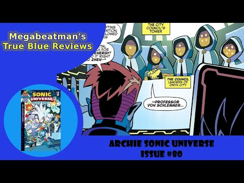 Sonic Universe #80 - A Comic Review by Megabeatman