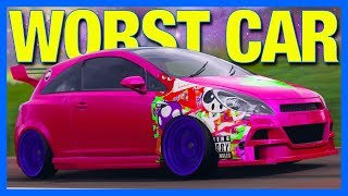 Forza Horizon 4 : THE WORST CAR EVER!! (Vauxhall Corsa Customization)