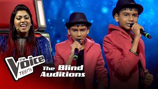Adeesha Kavinga | Perfect | Blind Auditions | The Voice Teens Sri Lanka