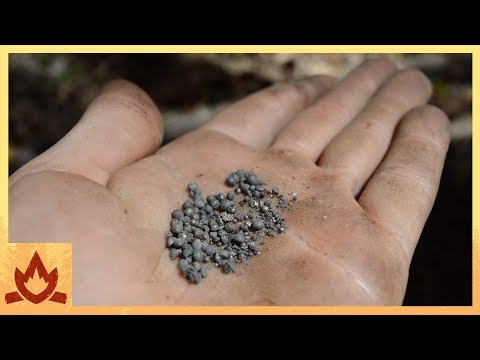 Primitive Technology: Iron prills
