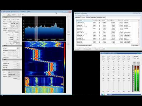 SDR# Rev 304 + EzTV666 RTL2832U, Commercial FM (Keyboard Tuning)