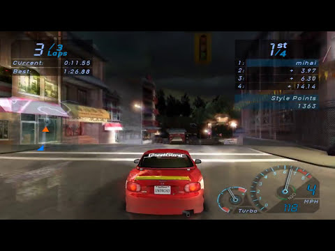 PC Longplay [347] Need For Speed Underground (part 1 of 3)