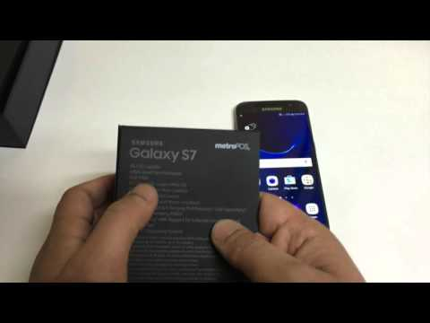 Samsung Galaxy s7 Unboxing and Review Metro PCS / T-mobile