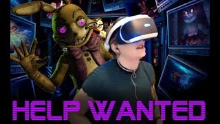 100% Completing FNaF Help Wanted VR