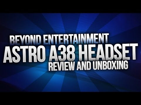ASTRO A38 Bluetooth Headset Review and Unboxing