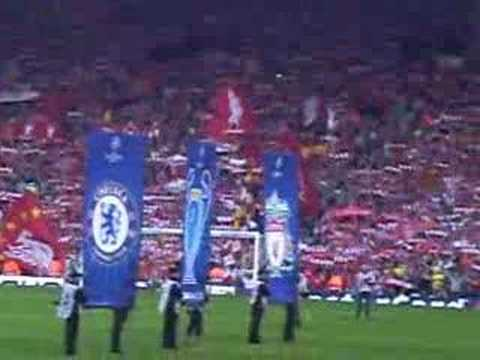 You'll Never Walk Alone! Liverpool - Chelsea Clsemi Final 07 video