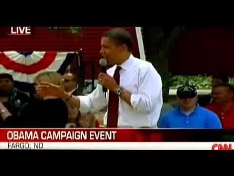 Senator Obama calls Bush