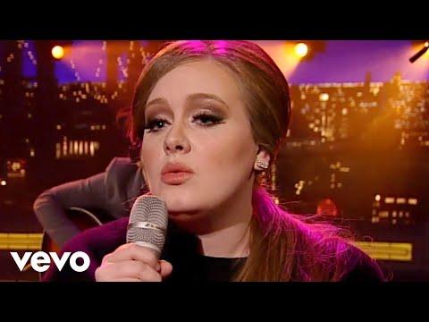 Sonerie telefon » Adele – Lovesong (Live on Letterman)