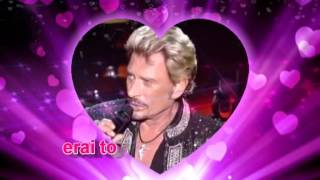 Johnny Hallyday & Amy Keys   J