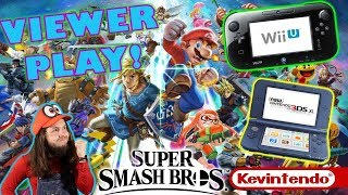PLAY WITH ME! Smash 4 Wii U and 3DS!  👅| Viewer Matches HYPED FOR SUPER SMASH BROS ULTIMATE!!!!!!!!
