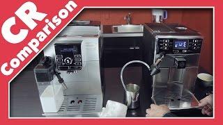 Saeco Pico Baristo vs Delonghi Magnifica S Cappuccino | CR Comparison