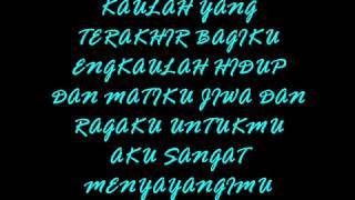 SouQy Band Aku Sangat Menyayangimu (lirik)