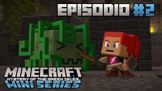 La Cueva de Medusa   Minecraft Mini Series: El Misterio de las Islas Griegas   Episodio 2
