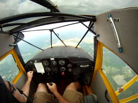 Aerobatics in a 1946 Clipped Wing Taylorcraft
