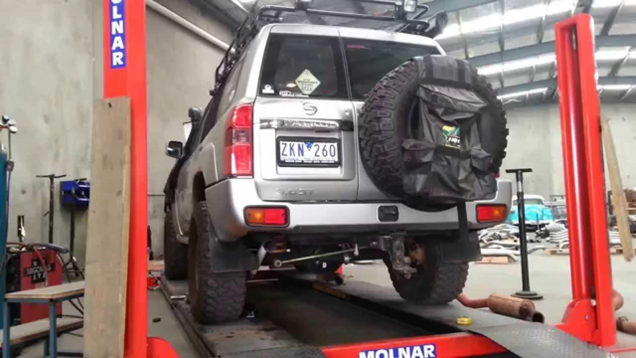 Nissan Patrol 3 0l Turbo Diesel 3 Inch Turbo Back Playtime