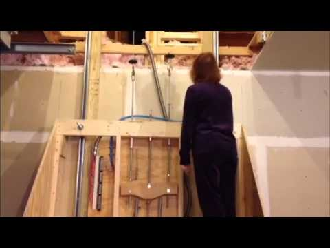 Garage attic elevator how to save money and do it yourself Garage attic lift elevator