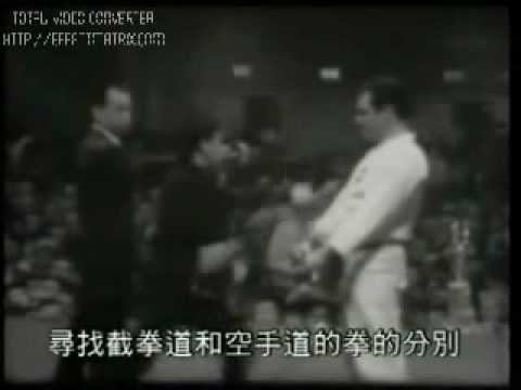 Jeet Kune Do vs. Karate Punch - Bruce Lee's Study Image 1