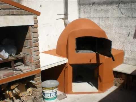 Como hacer una chimenea para horno de barro