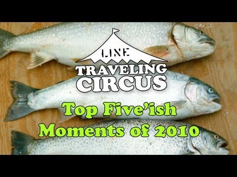 LINE Traveling Circus Top 5 Moments of 2010