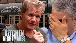 Gordon Finds Out Things Are A LOT More Complicated at Sam's Kabob Room | Kitchen Nightmares