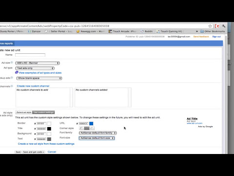 Google Adsense Tutorial - How To Create Ads That Convert