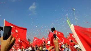 Yenikapı'da balon show