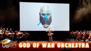 GOD OF WAR PS4 OST LIVE ORCHESTRA TEATRO FREI CANECA