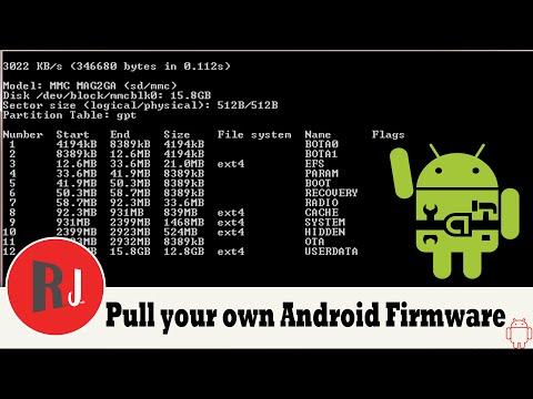 How to pull your own stock Android firmware from your device