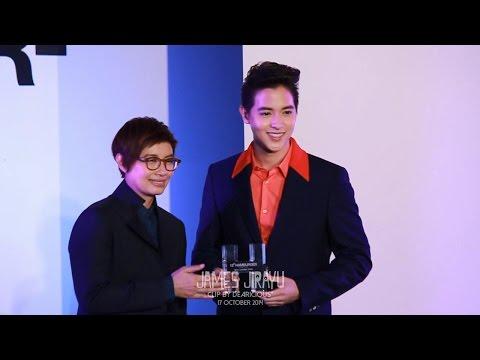 [Fancam] 2014.10.17 เจมส์ จิรายุ - 'รับรางวัล + ถ่ายรูปรวม' @ งาน HAMBURGER 13th Anniversary Party