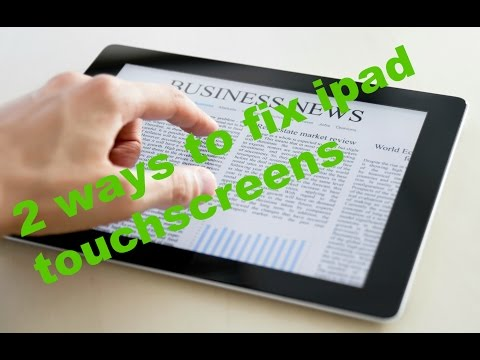 2 WAYS TO FIX IPAD TOUCHSCREEN NOT RESPONDING - WORKING