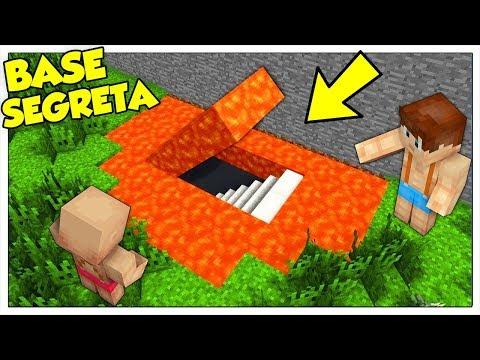 COME COSTRUIRE IL MIGLIOR PASSAGGIO SEGRETO SOTTO LA LAVA! - Minecraft ITA