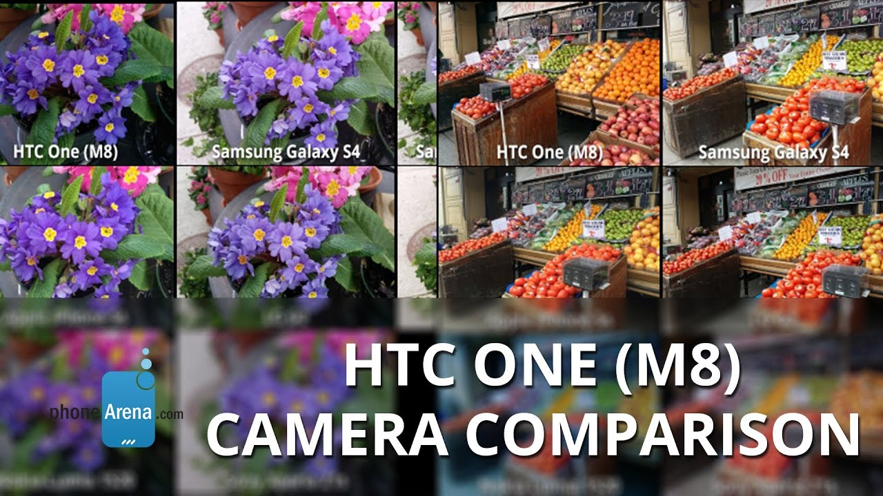 Htc One m8 Camera vs Galaxy