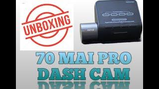 Unboxing Xiaomi 70 Mai Pro dash cam for My Tata Tiago xz plus part1
