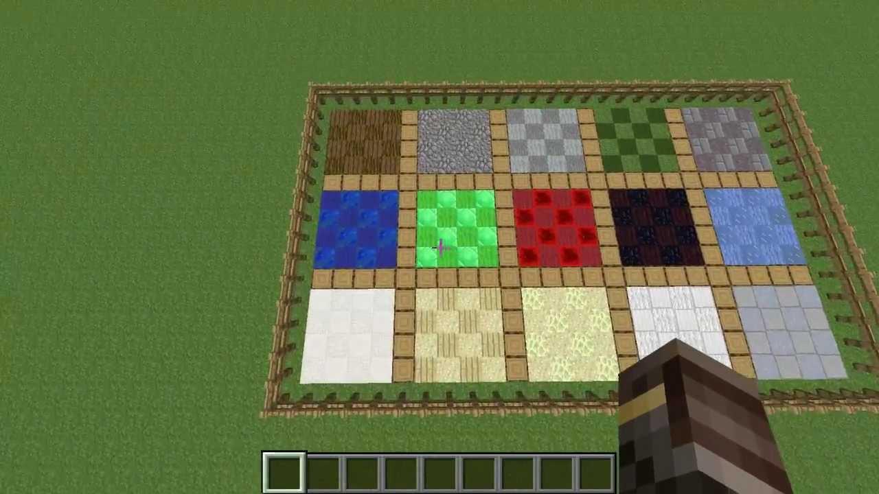 Amazing Minecraft 15 Floor Designs YouTube